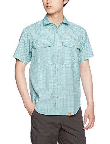 ティムコ (フォックスファイヤー)Foxfire [防虫] スコーロン SCミニチェックシャツS/S 5212771 063 アクア L