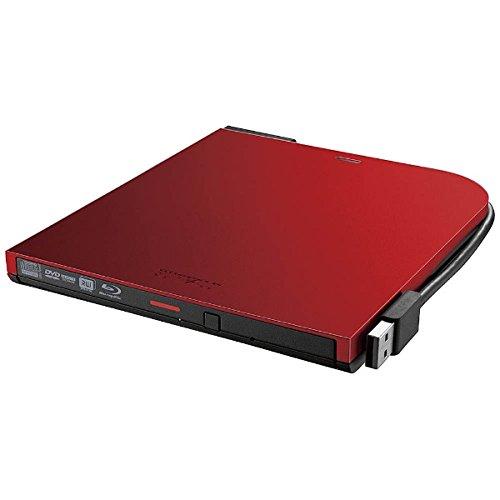 バッファロー BDXL対応 USB2.0用ポータブルブルーレイドライブ スリムタイプ レッド(BRXL-PT6U2V-RDD)【smtb-s】