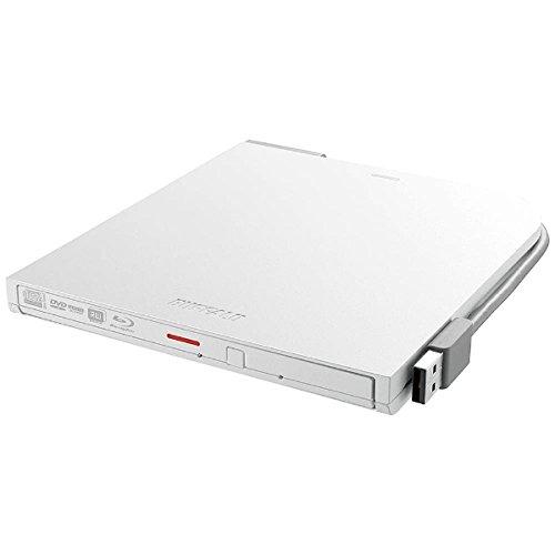 バッファロー BDXL対応 USB2.0用ポータブルブルーレイドライブ スリムタイプ ホワイト(BRXL-PT6U2V-WHD)【smtb-s】