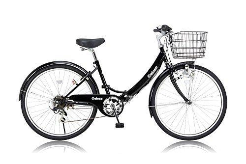 OTOMO(オオトモ) コロノ26インチ折畳ノーパンク自転車(6段変速付)【沖縄・離島への配送不可】【smtb-s】