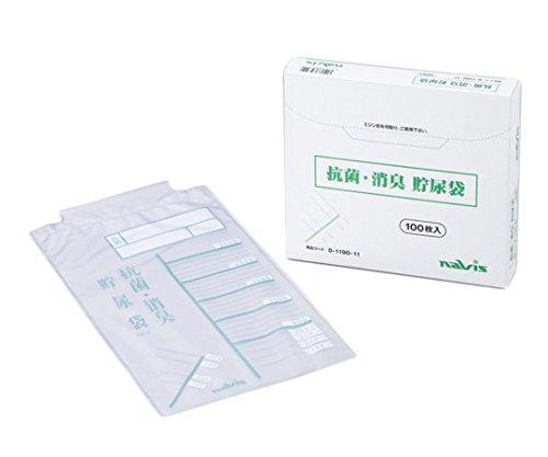 アズワン 消臭抗菌貯尿袋 2.5L お得ケース 1000枚入NCLB0630080-1190-51【smtb-s】