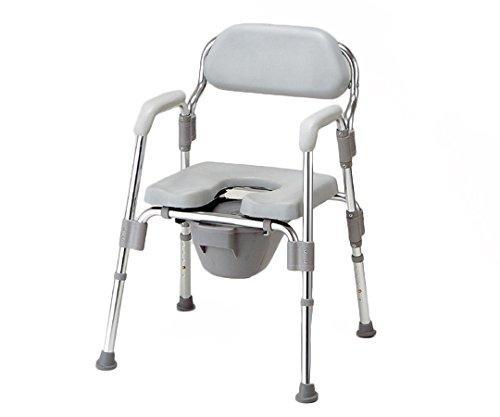 アズワン トイレ椅子(折りたたみ式) 520×535×700~800mmNC172100-6622-11【smtb-s】