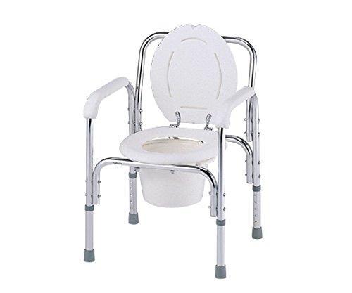アズワン デラックスアルミ製便器椅子 530×455×720~820mmNCNN315-0713010-663-01【smtb-s】