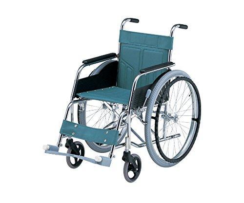 アズワン 車椅子 (自走式/スチール製/スタンダードタイプ)NCNN315-0646010-5953-01【smtb-s】