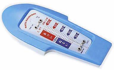 送料無料 佐藤計量器製作所 ブランド買うならブランドオフ 本物 ブルーNCNN315-0779060-6040-01 ボート型湯温計