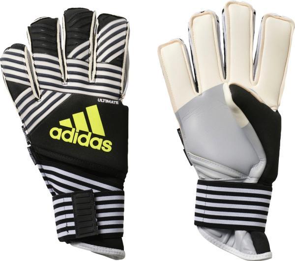 adidas サッカーキーパーグローブ ACE TRANS ウルティメイト (DKM95) [色 : コアブラック/ホワイト/ソー] [サイズ : 8]【smtb-s】