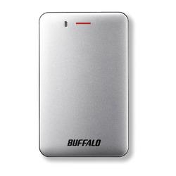 バッファロー USB3.1(Gen1)小型ポータブルSSD 480GB シルバー(SSD-PM480U3A-S)【smtb-s】