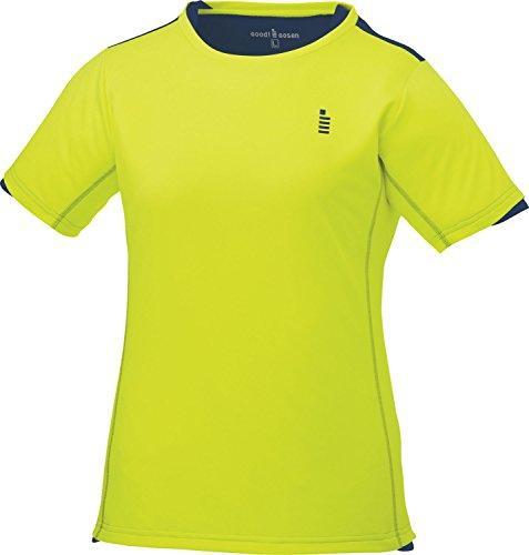ゴーセン レディースゲームシャツ (T1719) [色 : ネオンイエロー] [サイズ : LL]【smtb-s】
