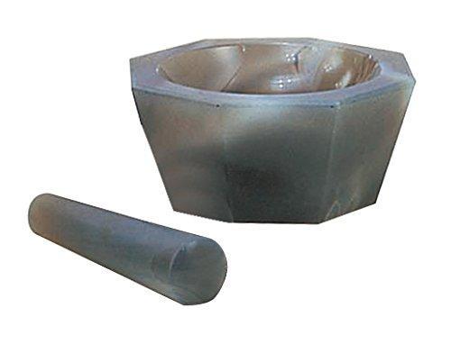 アズワン メノー乳鉢 浅型 35×40×10 乳棒付き1セット6-546-01【smtb-s】