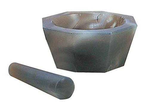 アズワン メノー乳鉢 浅型 50×60×14 乳棒付き1セット6-546-03【smtb-s】
