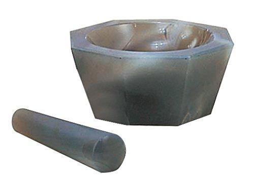 アズワン メノー乳鉢 浅型 65×80×20 乳棒付き1セット6-546-07【smtb-s】