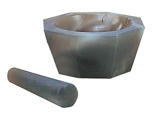 アズワン メノー乳鉢 浅型 80×100×25 乳棒付き1セット6-546-11【smtb-s】