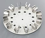 アズワン チューブローテーター プレートφ250mm 50mL×8本1個3-6574-11