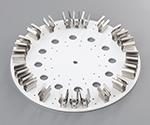 アズワン チューブローテーター プレートφ250mm 15mL×10本1個3-6574-12