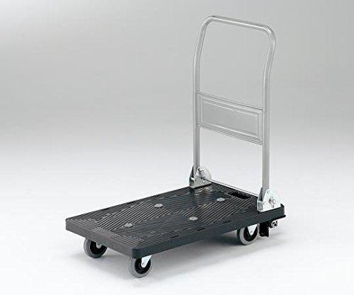 アズワン 静音樹脂台車 フットブレーキ付き 耐荷重150kg 708×452×8851台3-6564-01【smtb-s】