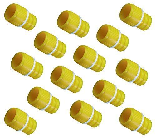 アズワン サンプルチューブ(内ネジ)用キャップ T500Y0S 黄 1000個入1袋(1000個入り)3-7008-17【smtb-s】