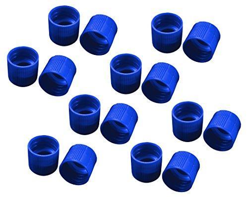 アズワン サンプルチューブ(外ネジ)用キャップ T502B 青 1000個入1袋(1000個入り)3-7005-12