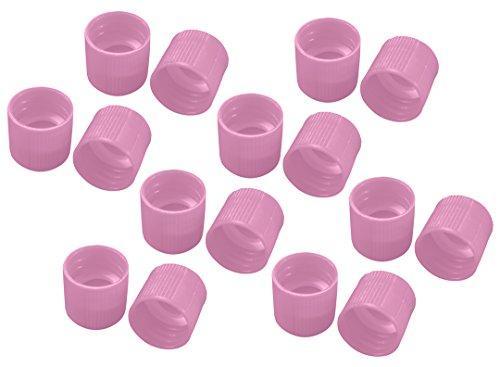 アズワン サンプルチューブ(外ネジ)用キャップ T502L ピンク 1000個入1袋(1000個入り)3-7005-14