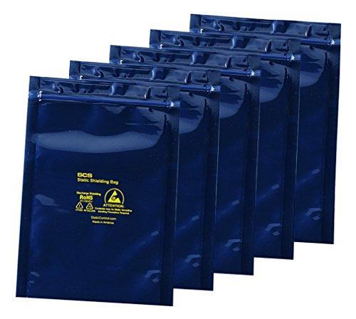 アズワン ESDシールドバッグ(4層タイプ) ジッパー付き 250×300×0.076NC3-6920-013-6921-09【smtb-s】