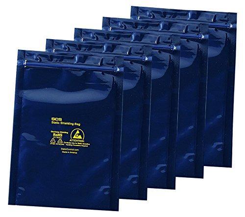 アズワン ESDシールドバッグ(4層タイプ) ジッパー付き 380×450×0.076NC3-6920-013-6921-13