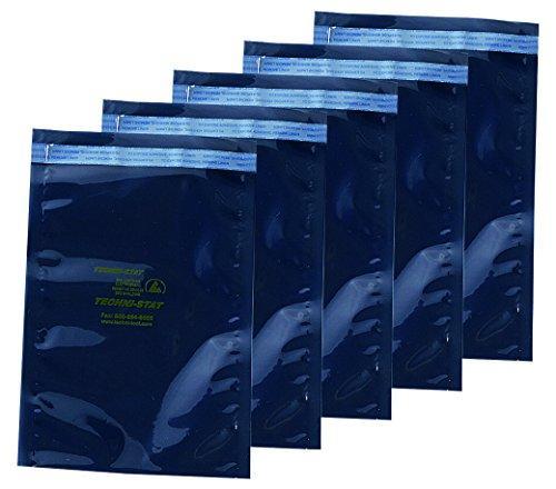 アズワン ESDシールドバッグ シールドバッグ 接着シール付き 380×450×0.076NC3-6922-013-6924-09【smtb-s】