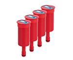 アズワン 安全廃液キャップ用排気フィルター(2.5Lタンク用) 4個入1箱(4個入り)2-9654-05
