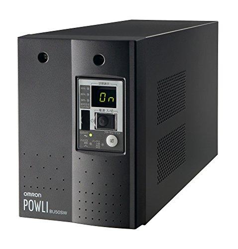 オムロン PCサーバ向け 無償保証延長サービスパック付 無停電電源装置 ( 5年無償保証/常時インバータ/500VA/350W/据置型 ) ( BU50SWG5 )【smtb-s】