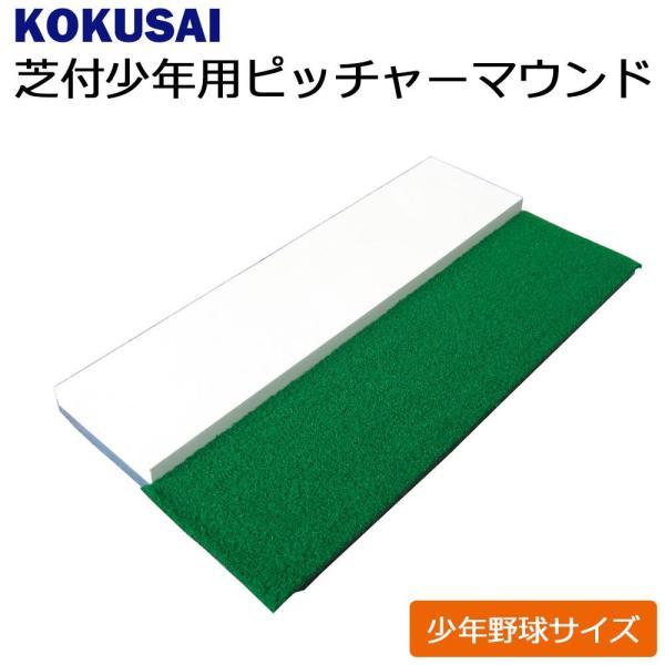 コクサイ KOKUSAI 少年用芝付ピッチャーマウンド 少年野球サイズ 1台 RB1500 MAX (1083860)【smtb-s】