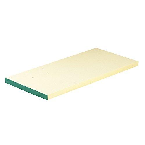 エムテートリマツ 天領 抗菌ピュアマナ板 カラー縁付 PK3A 60×30×厚さ20mm グリーン【smtb-s】