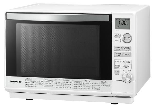 シャープ RE-V90A-W 過熱水蒸気オーブンレンジ 26L ホワイト系(RE-V90A)