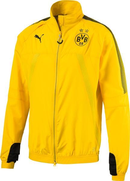 PUMA (751759/01)プーマ BVB スタジアムベントサーモ-R ジャケッ カラー:CYBER YELLOW- サイズ:L【smtb-s】