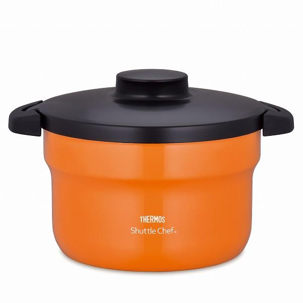 サーモス 真空保温調理器 シャトルシェフ 2.8L オレンジ(OR) KBJ-3000 (保温調理鍋 余熱調理器)【smtb-s】