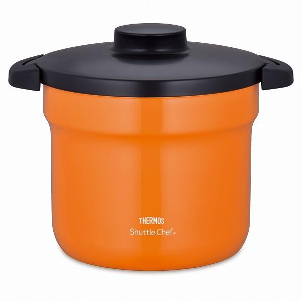 サーモス 真空保温調理器 シャトルシェフ 4.3L オレンジ(OR) KBJ-4500 (保温調理鍋 余熱調理器)【smtb-s】