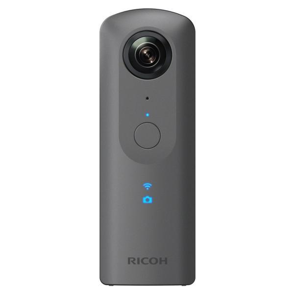 リコー RICOH THETA V 360度カメラ 全天球 910725 メタリックグレー【smtb-s】