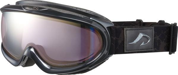 AXE(アックス) メンズ 大型メガネ対応 ダブルレンズ ゴーグル AX888-WPK BK・シャイニーブラック (1034985)【smtb-s】