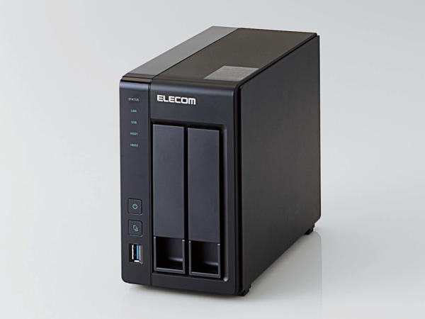 エレコム LinuxNAS/2Bay/2TB/NetStor5シリーズ NSB-5A2T2BL(NSB-5A2T2BL)【smtb-s】