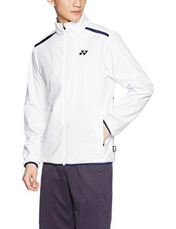 ヨネックス ユニウラジツキウィンドウォーマシャツ (70054) [色 : ホワイト] [サイズ : L]【smtb-s】