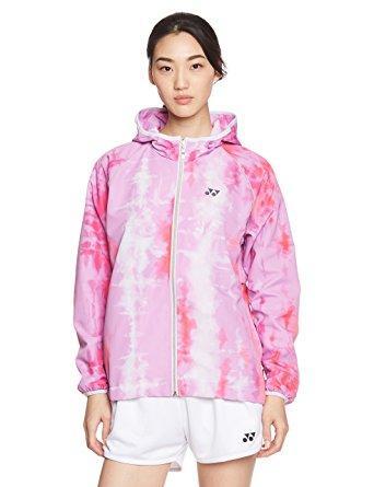 ヨネックス ウィメンズウィンドウォーマーフードシャツ (78050) [色 : ピンク] [サイズ : O]【smtb-s】