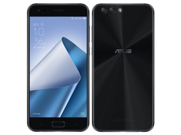 ASUS ZenFone 4 series ミッドナイトブラック/5.5FHD 1920x1080/Android 7.1.1/Qualcomm Snapdragon 660 2.2GHz/6G/64G/他(ZE554KL-BK64S6)【smtb-s】