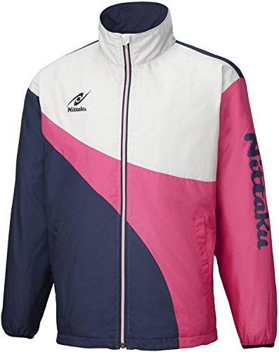 ニッタク(Nittaku) ライトウォーマーSPRシャツ (NW2848) [色 : ピンク] [サイズ : XO]【smtb-s】