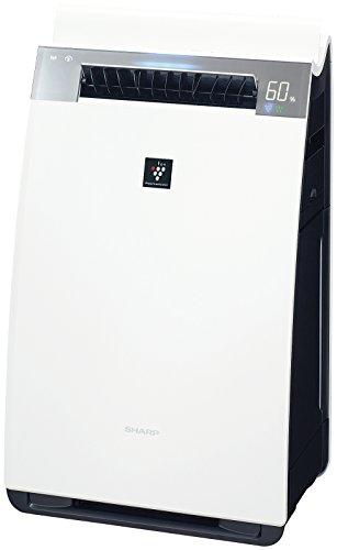 シャープ プラズマクラスター25000搭載 加湿空気清浄機 PM2.5モニター 人工知能 クラウド対応 ホワイト KI-HX75-W【smtb-s】
