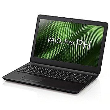 ソニー VAIO Pro PH(15.5型ワイド/i3/4G/HDD500G/1366x768/TPM/DVD/Win10Pro/黒/VAIO株式会社製)(VJPH111PAL1B)【smtb-s】