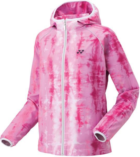 ヨネックス ウィメンズウィンドウォーマーフードシャツ (78050) [色 : ピンク] [サイズ : XO]【smtb-s】