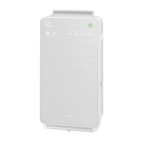 日立 EPNVG70-W 加湿空気清浄機 「ステンレス・クリーン クリエア」(空気清浄:~32畳) パールホワイト(EP-NVG70)【smtb-s】