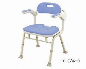 アロン化成 折りたたみシャワーベンチIS 座面角型 / 536-320 ブルー【smtb-s】