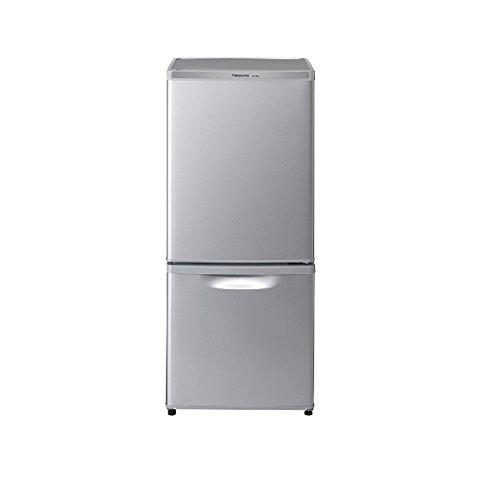 パナソニック NR-B14AW-S 2ドア冷蔵庫 (138L・右開き) シルバー(NR-B14AW)【smtb-s】