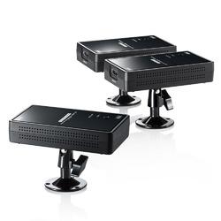 サンワサプライ ワイヤレス分配HDMIエクステンダー(2分配) VGA-EXWHD7【smtb-s】