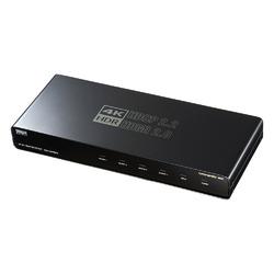 サンワサプライ 4K/60Hz・HDR対応HDMI分配器(4分配) VGA-HDRSP4【smtb-s】