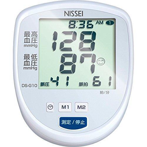 日本精密測器 上腕式デジタル血圧計  DS-G10