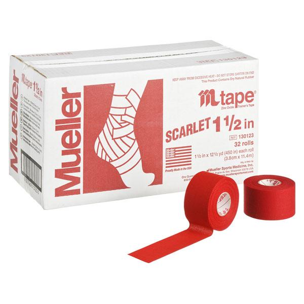 ミューラー Mテープチームカラー_スカーレット (130822)【入数:32】【smtb-s】